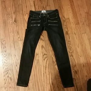 Paige Edgemont Jeans with Zippers Size 27